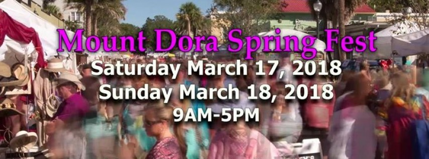 Mount Dora Spring Festival of Arts & Crafts