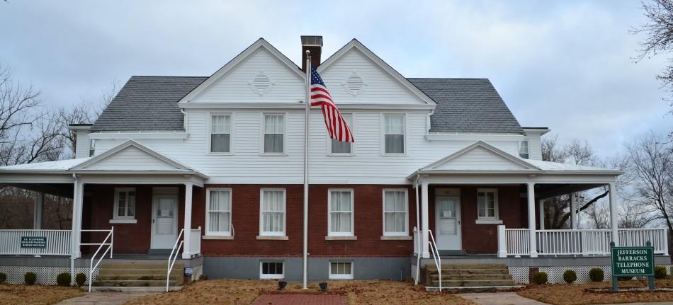 Jefferson Barracks Telephone Museum - Candlestick Telephone Exhibit