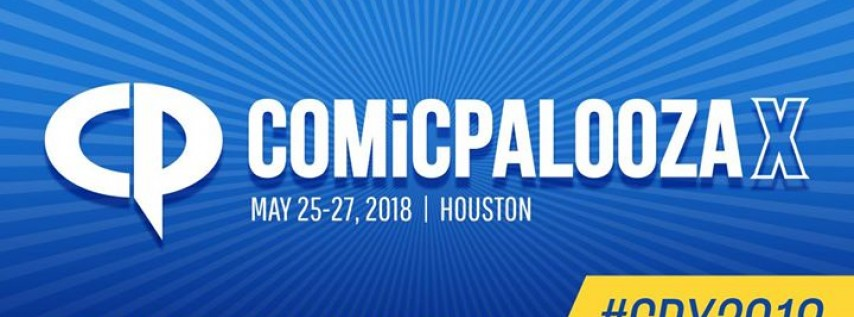 Comicpalooza X 2018 - Official Event