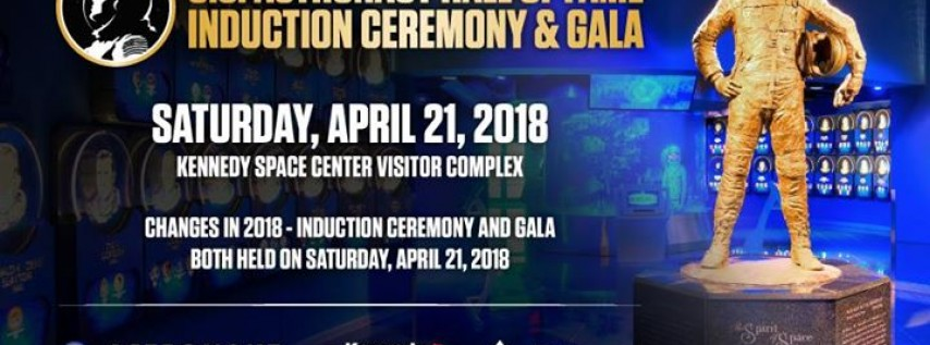 US Astronaut Hall of Fame Induction Ceremony