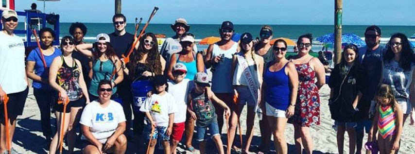 Beachside Cleanup with Keep Brevard Beautiful