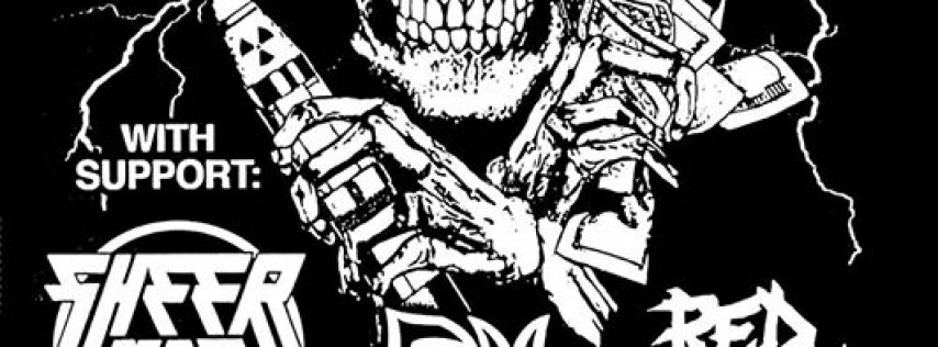 POWER TRIP with Sheer Mag, Fury & Red Death at Club Red