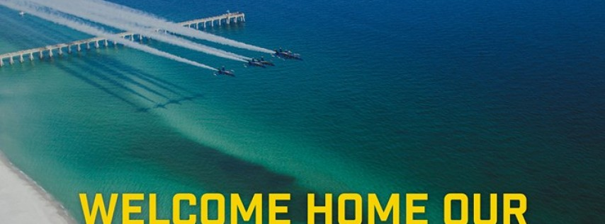 Welcome Home Our Blue Angels (Exact Arrival Time TBD)