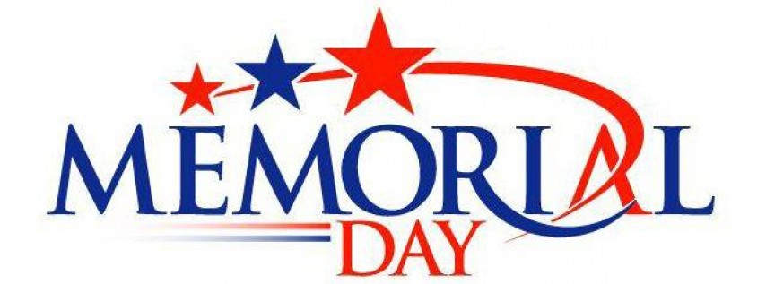 Memorial Day- No School