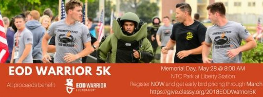 EOD Warrior 5K