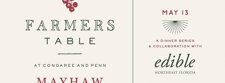 Farmers Table | Mayhaw