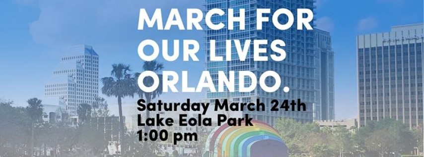 March For Our Lives - Orlando