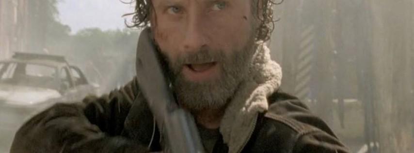 Marcha zombie con Rick Grimes