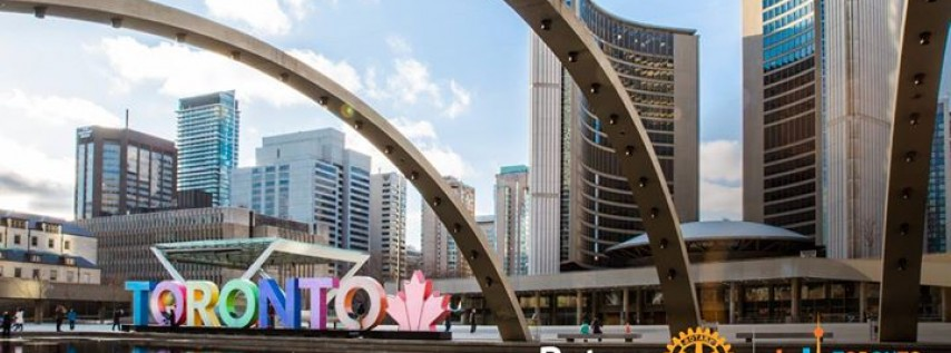 2018 Rotary Convention in Toronto, Canada