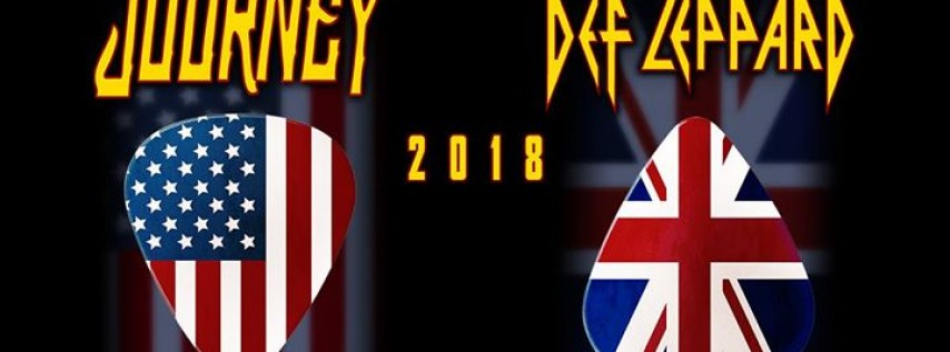 Journey & Def Leppard at Jiffy Lube Live