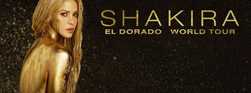 Shakira at the Capital One Arena, Washington DC