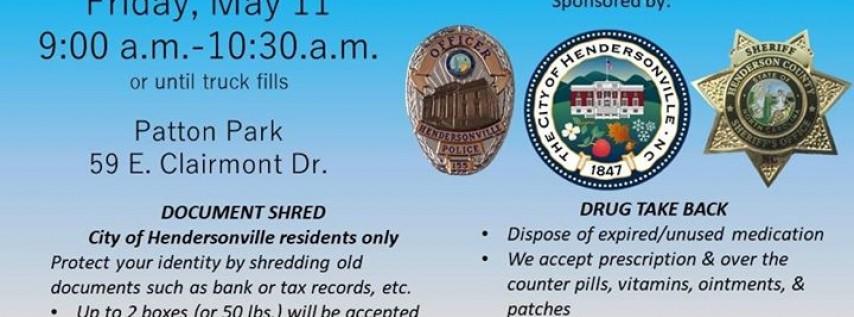 City of Hendersonville Document Shred & Drug Take Back