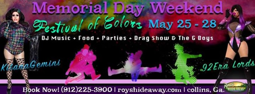 Memorial Day Festival of Colors