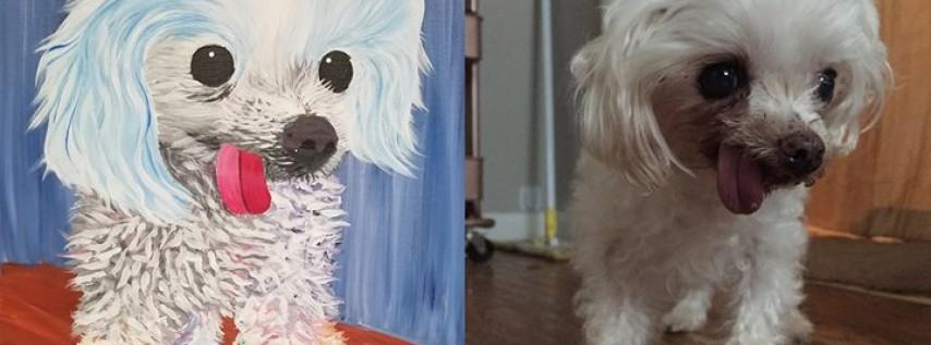 Paint your pet at Motorworks