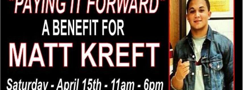 Benefit for MATT KREFT