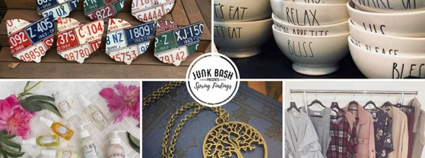 Official Event Page | Junk Bash Presents: Spring Findings