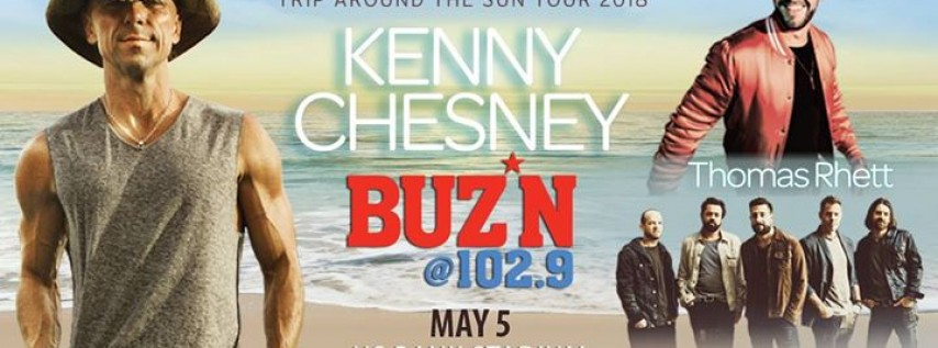 BUZ*N Welcomes Kenny Chesney