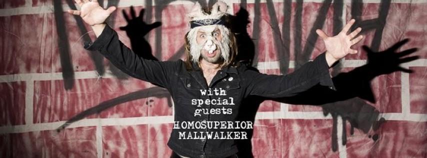 Nobunny, Homosuperior & Mallwalker at Metro Gallery 4/2