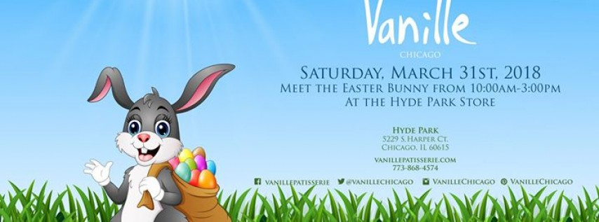 Easter Bunny is coming to Hyde Park- Vanille!