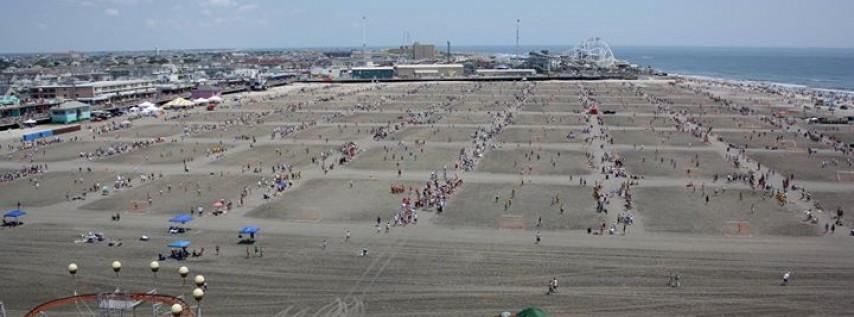 2018 Beach Blast Sand Soccer Tournament at Morey's Piers