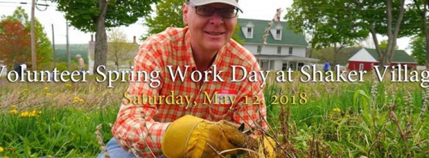 Volunteer Spring Work Day: Shaker Village