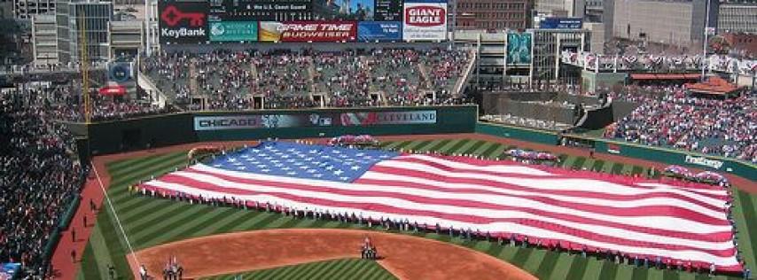 Cleveland Indians HOME OPENER 2018