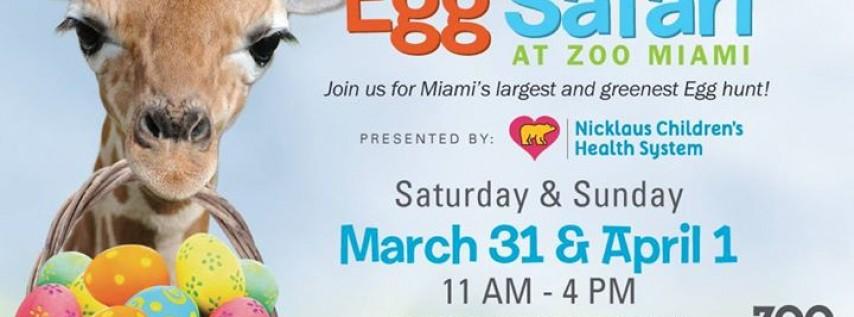 Egg Safari Present by Nicklaus Children's Hospital