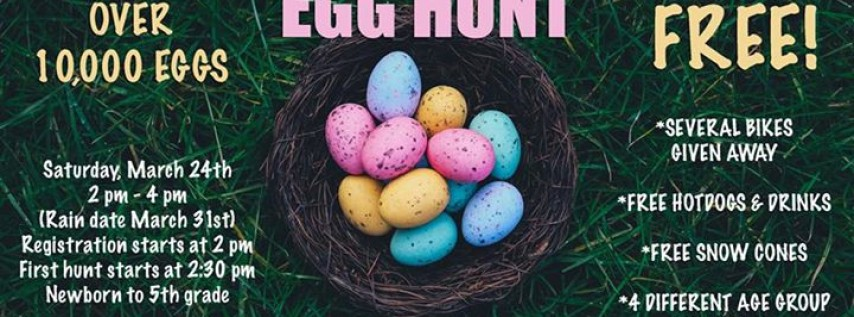 Huge Community Easter Egg Hunt