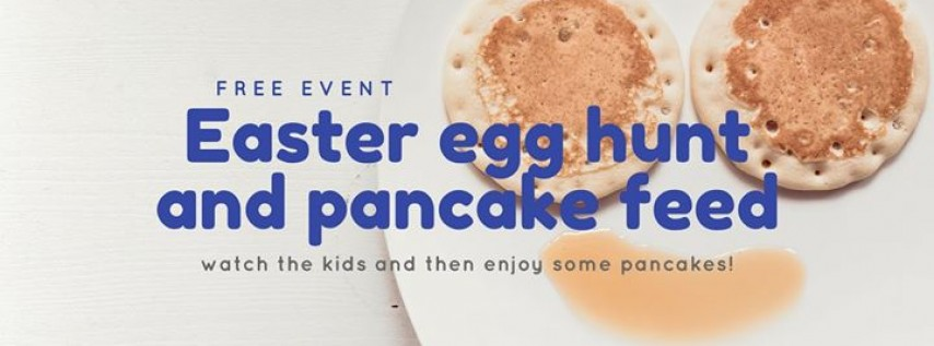 Easter Egg Hunt and Pancake Feed