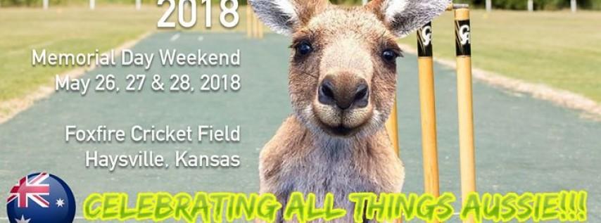 Ozefest 2018 at Foxfire Cricket Field - Haysville Kansas
