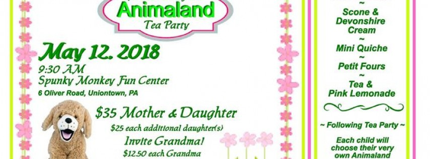 Mother-Daughter Animaland Tea Party
