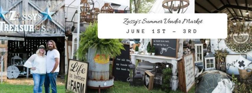 Zassy's Treasures 2018 Summer Vendor Market