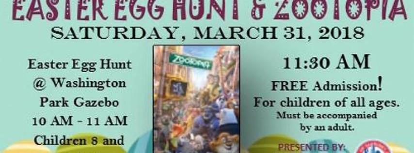 Easter Egg Hunt & Zootopia