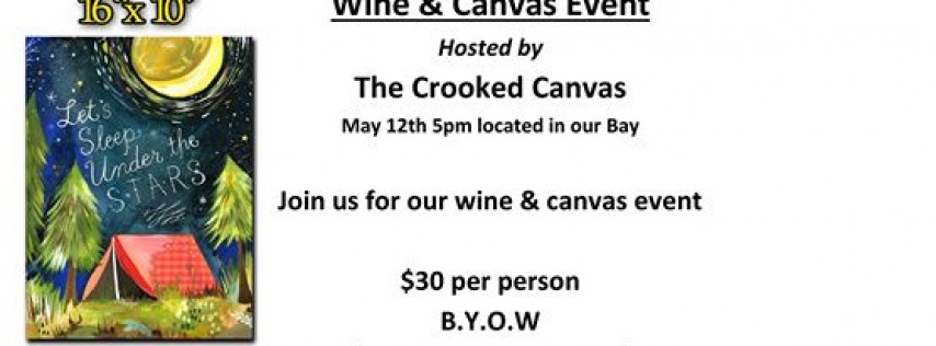 Mothers Day Wine & Canvas Event