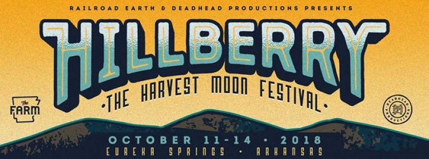 Hillberry The Harvest Moon Festival 10/11 - 10/14/18