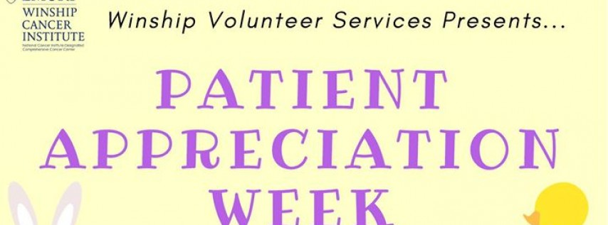 Winship Patient Appreciation Week