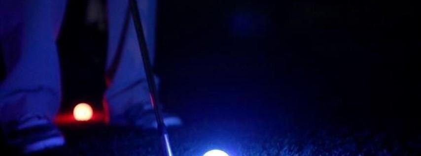 Shots in the Dark Glow Ball Golf