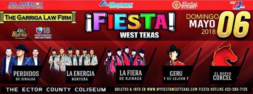 Perdidos De Sinaloa - Energía Norteña -Geru- La Fiera @Fiesta West Texas