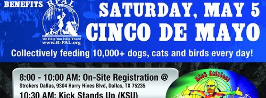 Hogs 4 Paws Cinco de Mayo Rescue Ride