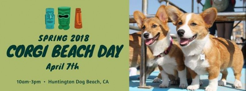 Spring 2018 So Cal Corgi Beach Day
