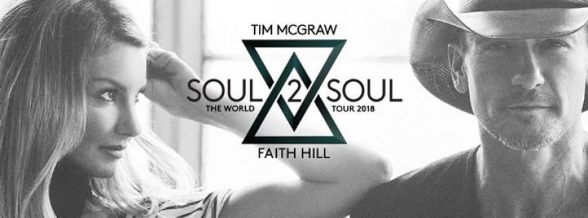 Tim McGraw & Faith Hill Soul2Soul The World Tour 2018