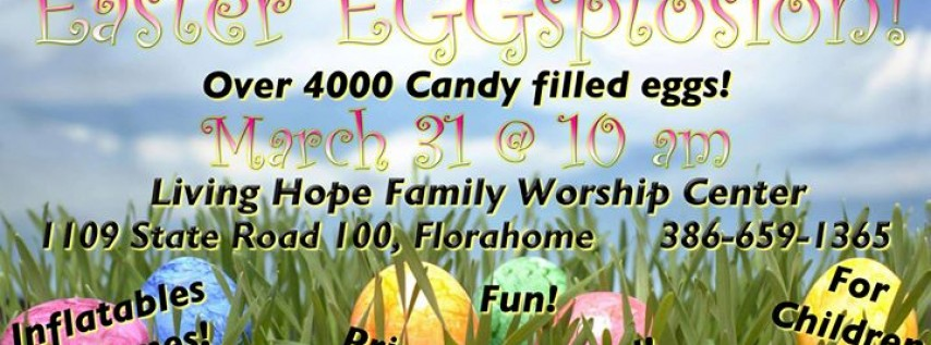 Easter EGGSplosion!