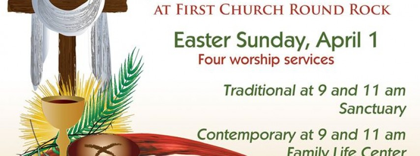 Easter at First United Methodist Church, Round Rock