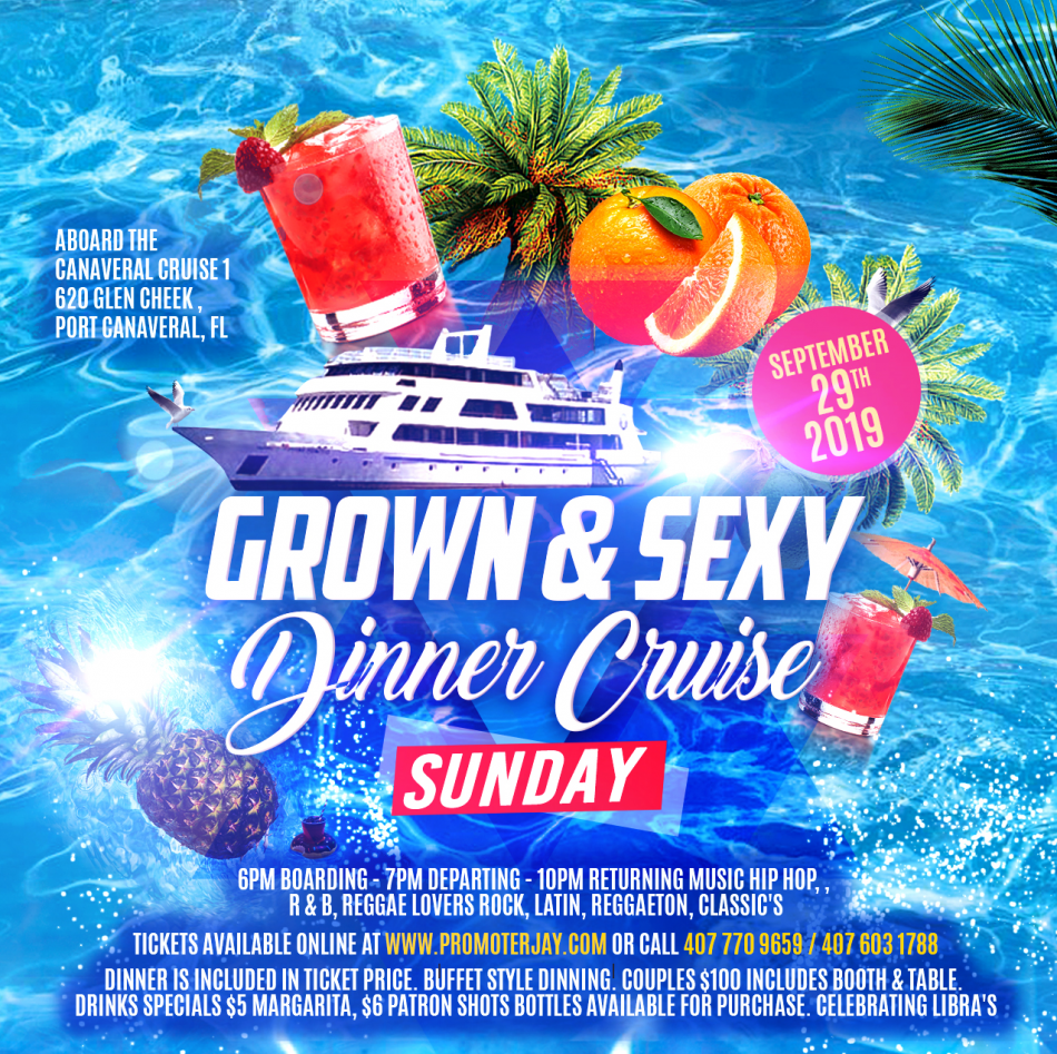 Grown and Sexy Dinner Cruise