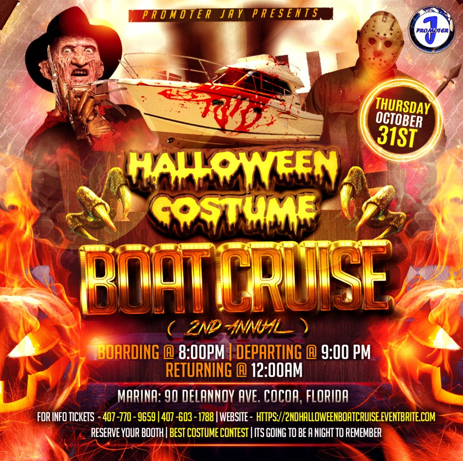 Halloween Costume Boat Cruise ADULTS ONLY