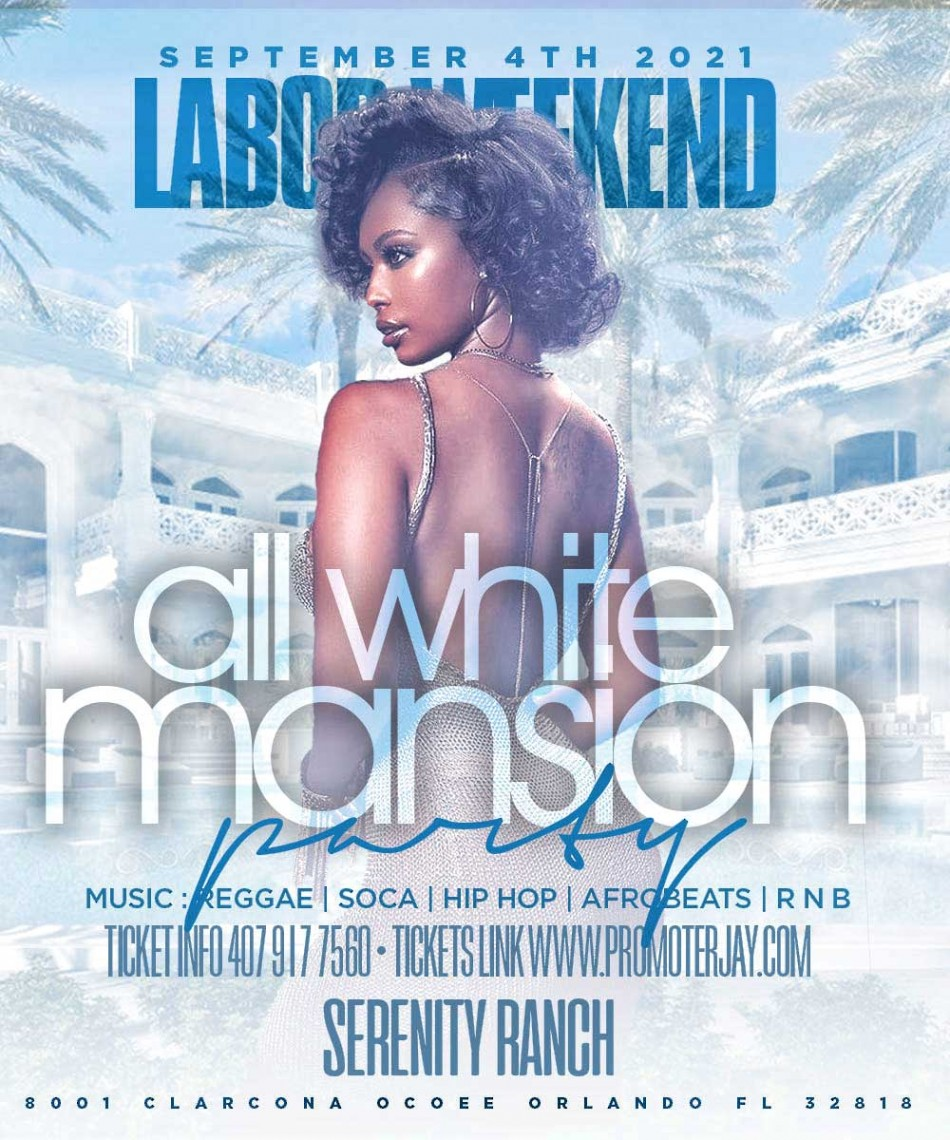 2021 Labor Day Weekend All White Mansion Day Party
