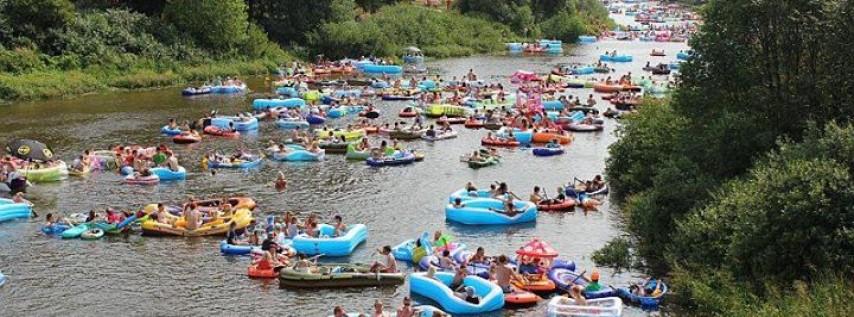 Ginnie Springs Memorial day weekend (College Weekend)