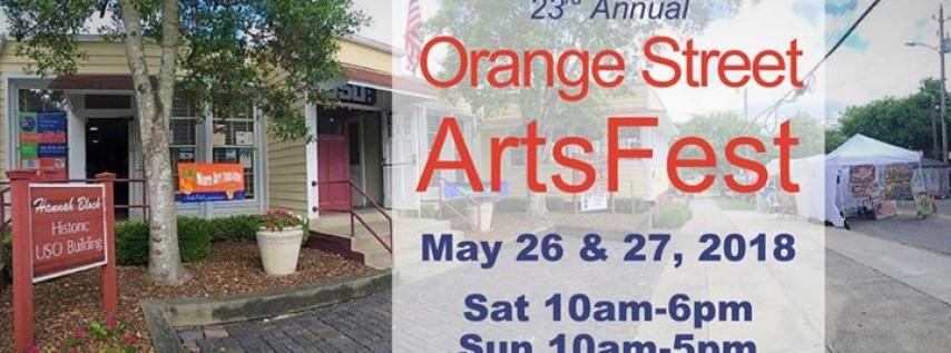 23rd Annual Orange Street ArtsFest