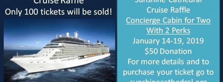 Sunshine Cathedral 2019 Cruise Raffle