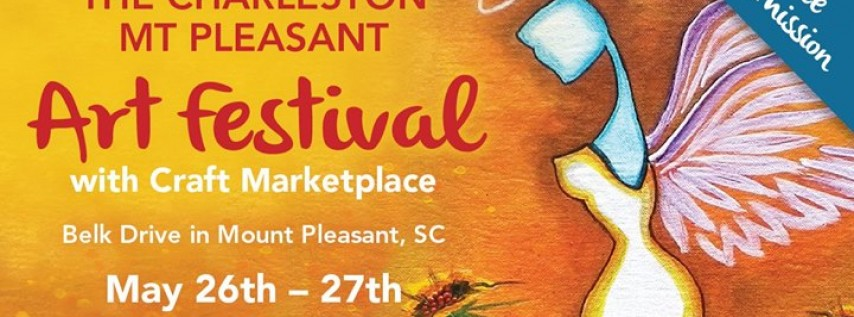 The Charleston-Mt Pleasant Art Festival with Craft Marketplace